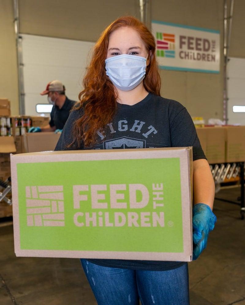 Feed the Children Volunteer