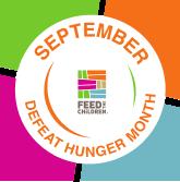 Defeat Hunger Month Logo
