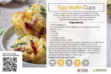Herbalife Egg Muffin Recipe