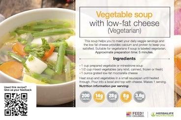 Herbalife Vegetable Soup Recipe