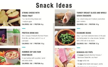 Herbalife Snack Ideas