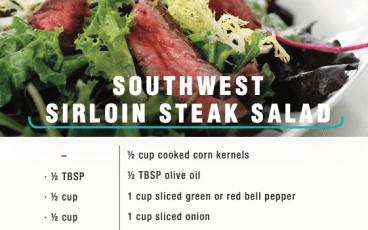 Herbalife Southwest Steak Salad
