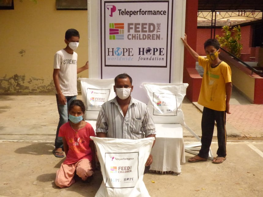 Teleperformance and Feed the Children
