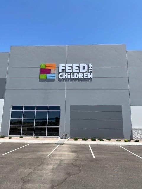 Feed the Children arizona distribution center
